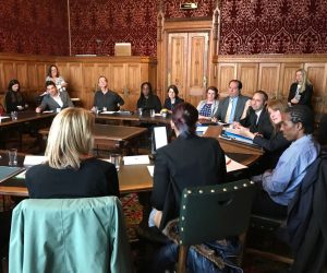 APPG Knief Crime Meeting